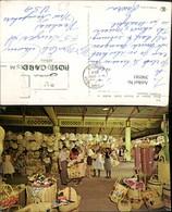 390585,Jamaica Kingston Straw Section Of Victoria Crafts Market Markt - Ansichtskarten