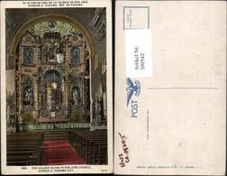 390542,Panama City San Jose Church Golden Altar Kirche Innenansicht - Panama