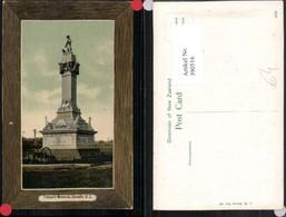 390516,New Zealand Neuseeland Dunedin Troopers Memorial Denkmal Passepartout - Ansichtskarten