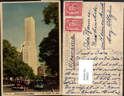 390635,Argentina Buenos Aires Hochhaus Gebäude Straßenansicht - Argentinien