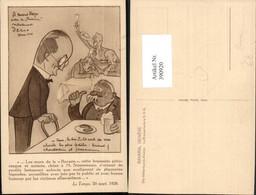 390920,Künstler AK Geneve Genf Bavaria Völkerbunds-Kneipe Humor Großer Kopf - GE Genève