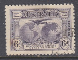 Australia, 1931 Kingsford Smith, 6d Violet, ,  Used - 1913-36 George V : Other Issues