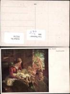 392234,Künstler AK Riss Meran Familienglück Frau Mutter M. Kind Baby Engeln - Engel