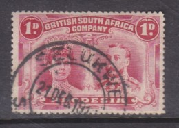 Rhodesia / B.S.A.Co. 1910, Double Head,  1d Carmine,  Perf 15, Used SELUKWE C.d.s. - Rhodésie Du Sud (...-1964)