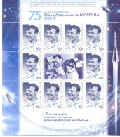 2016. Russia, Space, 55y Of First Space Flight Of Y. Gagarin, Sheetlet, Mint/** - 1992-.... Federazione