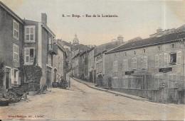 BRIEY - 54 - CPA  RARE - Rue De La Lombardie - Edit Babillion   - MEILLEUR PRIX - ENCH0616 - - Briey