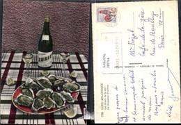 389764,Essen Trinken Cote Atlantique Les Fruits De La Mer La Douzaine D Huitres Wein - Küchenrezepte