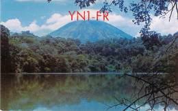 Amateur Radio QSL Card - YN1FR - Nicaragua - 1968 - 2 Scans - STAMPED - Radio Amateur