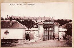X03070 MOULINS Quartier VILLARS 1er Dragons Poste Garde De E.O.R PACCENTINE à CAPAROSSI Vivario Corse -BOUTRAY - Moulins