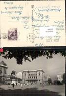 397899,Serbia Beograd Belgrad Trg Republike Denkmal Statue Straßenansicht - Serbien