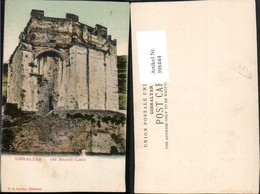 398444,Gibraltar Old Moorish Castle Burg - Gibraltar