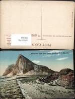398503,Gibraltar North-east View From Santa Barbara Fort Bergkulisse - Gibraltar
