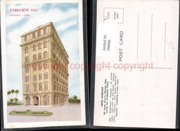 398906,Cuba Havana Colon Street Hotel Parkview - Ansichtskarten