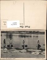 398957,India Agra The Dhobies Volkstypen Wäsche Waschen - Indien