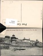 398966,India Agra Summon Burji Jahangiri Mahl Khas Mahl At From The River Gebäude - Indien