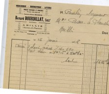 77 AMILLIS  Menuiserie Ebenisterie   Bernard BOURDILLAT - Autres