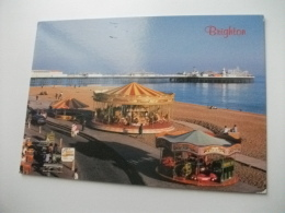 GIOSTRE PER BAMBINI  BRIGHTON U.K. - Cartoline