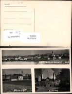 399076,Prambachkirchen Totale Bahnhof Kirche Mehrbildkarte - Non Classés