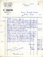 """77 AMILLIS  Garage VERDIER Agence """"CITROEN"""" Travaux Sur Type H - Automobilismo"""