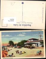 402091,Cuba Habana Havana Marianao Bathing Beach Strand Strandleben - Ansichtskarten