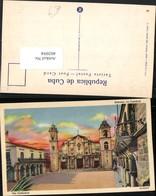 402094,Cuba Habana Havana Cathedral Kirche - Ansichtskarten