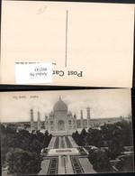 402143,India Agra Taj Mahal Mausoleum Türme - Indien