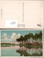 402158,India Lake Of Colombo See Palmen - Indien
