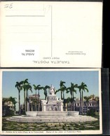 402086,Cuba Havana Plaza De La Fraternidad Estatua De La India Statue Brunnen - Ansichtskarten