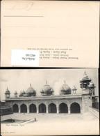 402140,India Agra Pearl Mosque Moschee Türmchen Arkaden - Indien