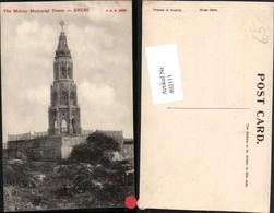 402111,India Delhi Mutiny Memorial Tower Turm - Indien