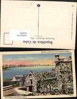 402092,Cuba Habana Havana Gulf Avenue From Morro Castle Festung - Ansichtskarten