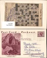 402197,Ganzsache South Africa Paarl Toitskloof Pass Bergkulisse - Südafrika