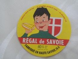 étiquette Fromage Neuve  VARIANTE Fromage Tartine Au Gruyère 74H PICON REGAL DE SAVOIE  Haute-Savoie - Käse