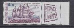"""TAAF 1984 Ship """"Gauss"""" / Nordposta 1v ** Mnh (TA120A) - Luchtpost"""