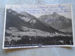 D137845.1200   Austria  Riezlern Mit  Zwölferhorn Und Widderstein - Photo Kessler Um 1930 - Kleinwalsertal