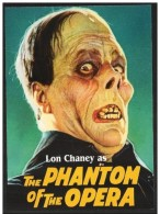 """Stati Uniti/États-Unis/United States: Intero, Stationery, Entier, Lon Chaney """"Il Fantasma Dell´Opera"""", """"Le Fantôme De L´ - Cinema"""
