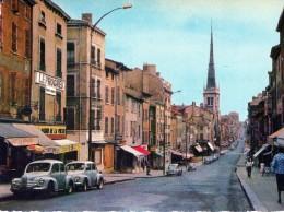 [69] Rhône> Non Classés Villefranche En Beaujolais La Rue Nationale - Non Classificati