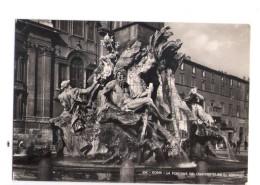 N2773 Sculture Del BERNINI Nella Fontana Dei QUATTRO FIUMI In Roma, Italia _ VIAG. _ Scultura, Statua - Sculptures