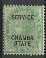 CHAMBA..1902/1906..Michel # 12..MLH. - Chamba