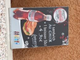 """Panneau Publicitaire """"COCA COLA"""". - Coca-Cola"""