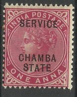 CHAMBA..1902/1904..Michel # 13..MLH. - Chamba