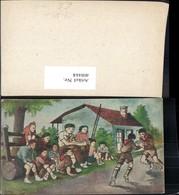 408444,Künstler Ak Marcel Larangot Pfadfinder Scouts Uniform Spielen - Pfadfinder-Bewegung
