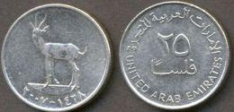UAE 25, 50 Fils 2007 (1428) A UNC (2 Coins) - Emirats Arabes Unis