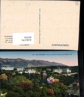 407830,Rhone-Alpes Savoie Aix-les-Bains Vue Sur Le Parc Et Les Grands Hotels - France