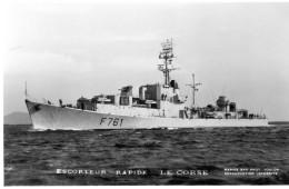 CPSM    Escorteur Rapide  Le  Corse - Oorlog