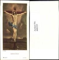 408555,Andachtsbild Heiligenbildchen G. Reni Crucifixus Gekreuzigter Jesus - Andachtsbilder