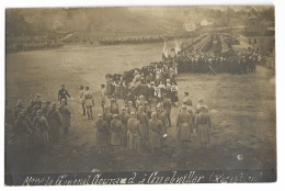 GUEBWILLER ( Carte Photo)  Réception Du  Général Gourand - Guebwiller