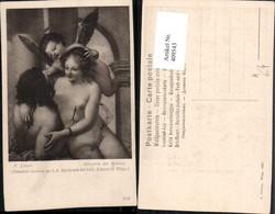 409543,Künstler AK P. Liberi Allegorie Der Malerei Engel Erotik - Engel