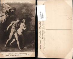 409544,Künstler AK Giuseppe Cesari Adam Et Eve Chasses Du Paradis Terrestre Engel Ero - Engel