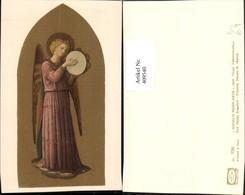 409540,Künstler AK Fr Beato Angelico Angelo Musicante Engel Tamburin - Engel
